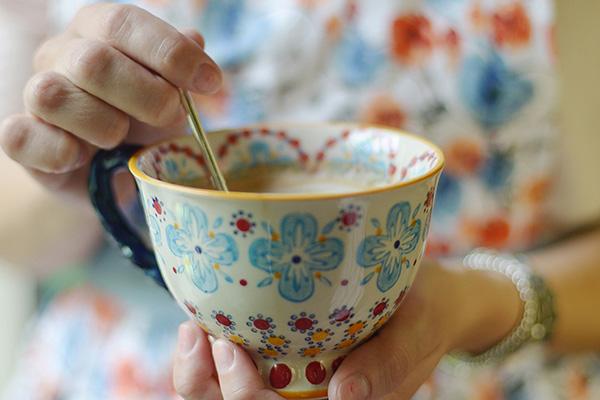 Une tasse de thé réconfortante