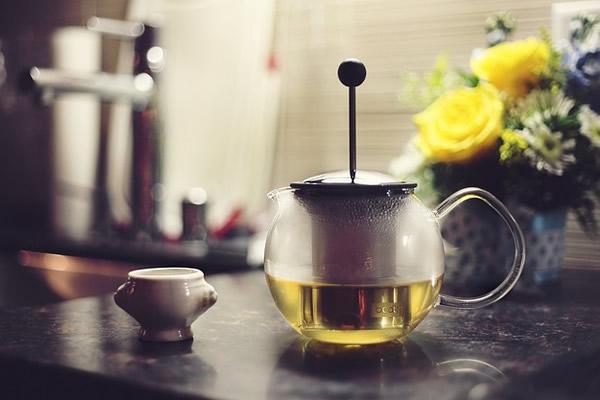 tasse de thé bien chaude