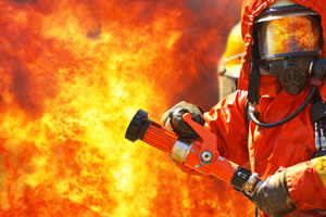 Sainte Barbe - Fête des pompiers. Pompier
