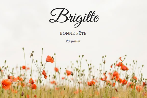 Le Prénom Brigitte