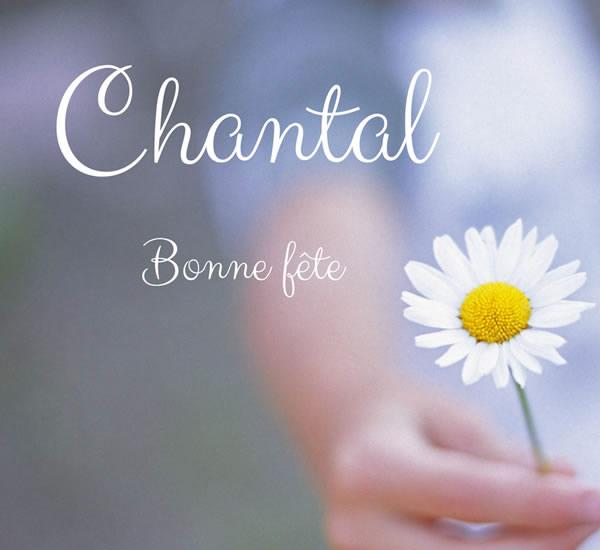 bonne fête Chantal