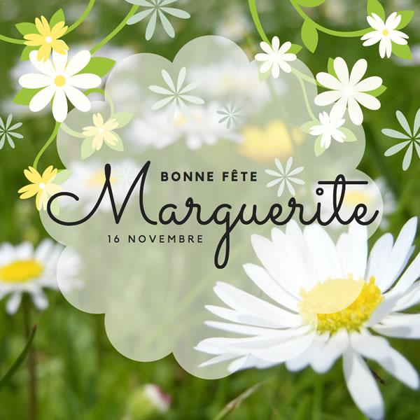 bonne fête Marguerite
