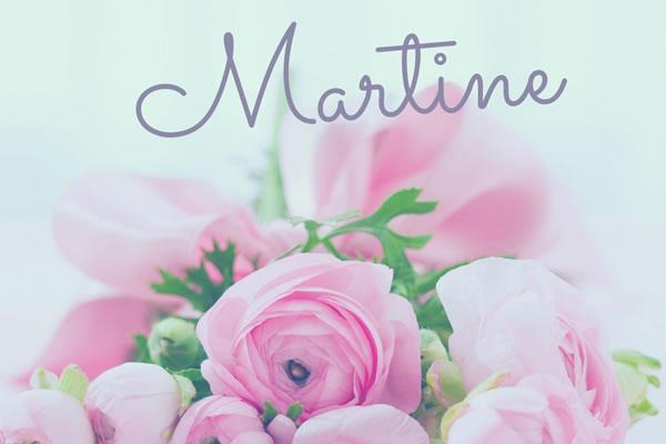 Le Prenom Martine