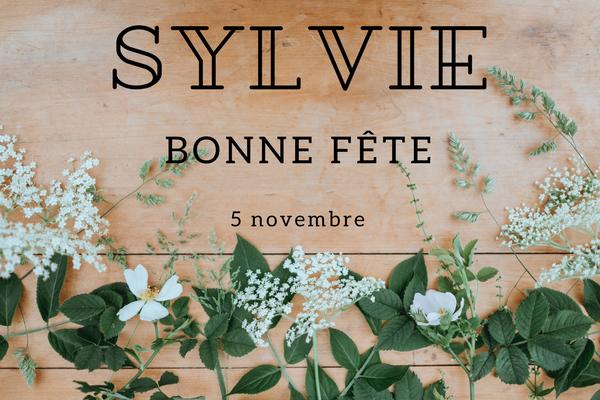Le Prénom Sylvie