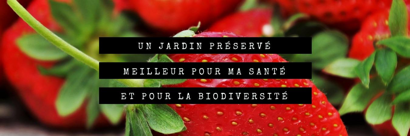 Un jardin protégé, meilleur ma santé, meilleur pour la biodiversité