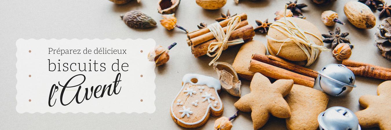 Recette de Biscuits de l'Avent