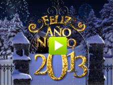 Año Nuevo 2013 de oro