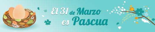 El 31 de Marzo es Pascua