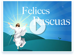 Cristo ha resucitado, Felices Pascuas