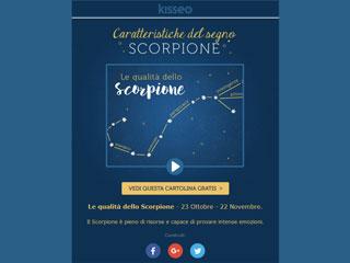 Il segno zodiacale dello Scorpione e le sue caratteristiche