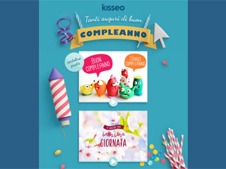 Le cartoline di buon compleanno